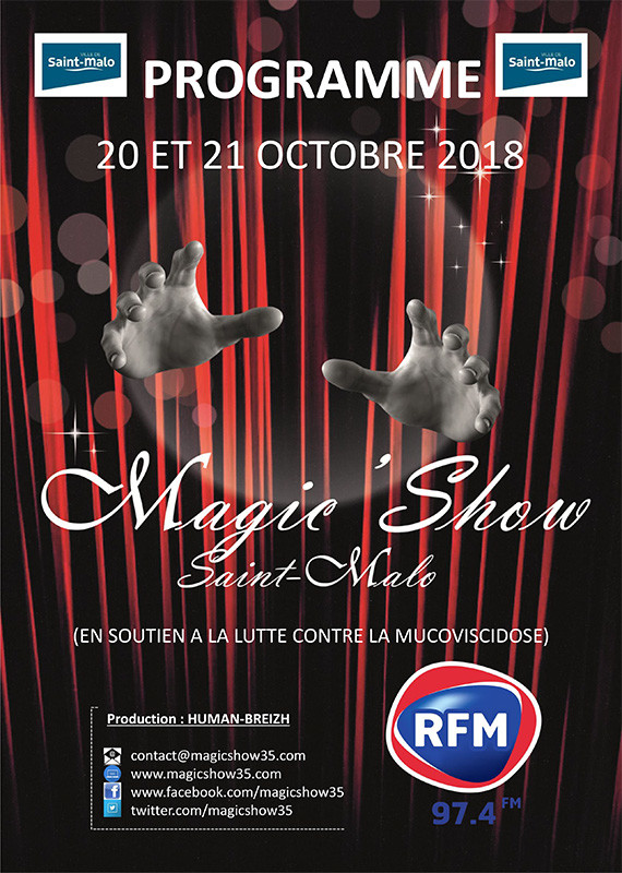 Magic' show Saint-Malo